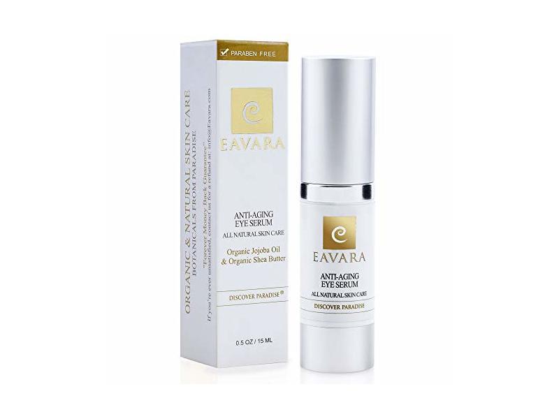 Eavara Organic Anti Aging Eye Cream, .5 oz
