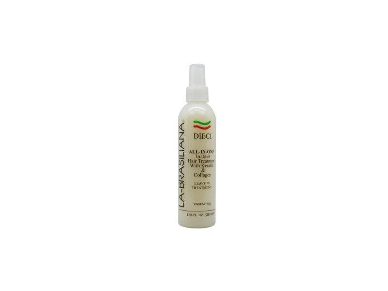 La-Brasiliana Dieci All-in-One Hair Treatment, 8.45 oz