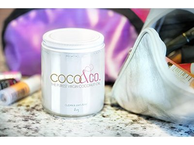 Coconut Oil for Hair & Skin By COCO&CO. Beauty Grade 100% RAW (8oz) - Image 5