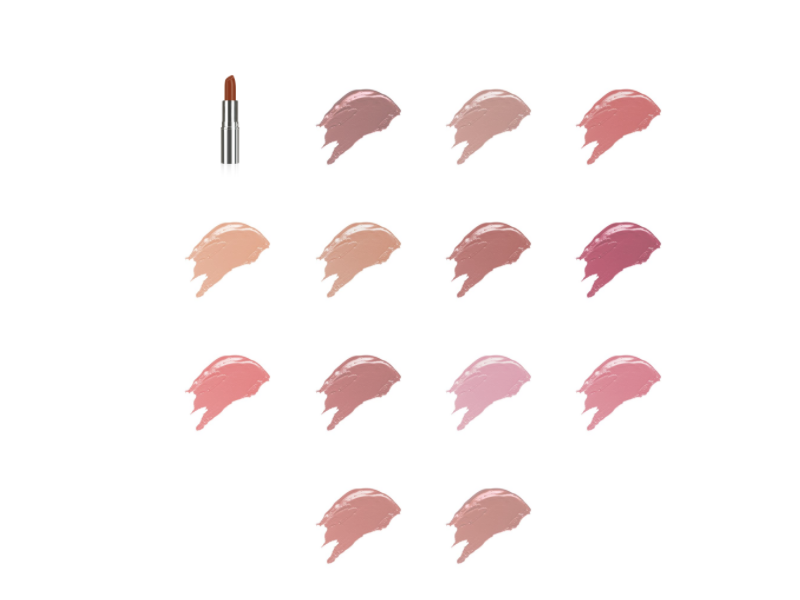 VMV Hypoallergenics Subtle Shine Lipstick, All Shades