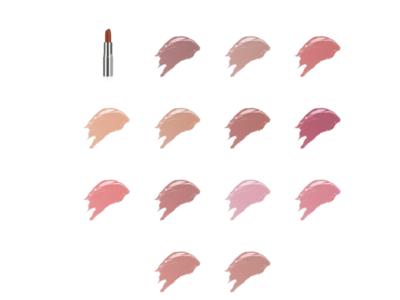 VMV Hypoallergenics Subtle Shine Lipstick, All Shades - Image 1