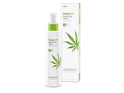 Andalou Naturals CannaCell Hydrating Toner, 6.7 Ounce