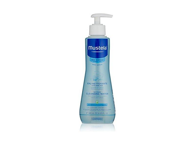 Mustela No-Rinse Cleansing Micellar Water, 10.14 fl oz