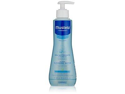 Mustela No-Rinse Cleansing Micellar Water, 10.14 fl oz - Image 1
