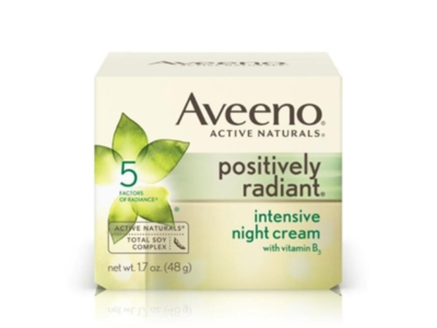 Aveeno Positively Radiant Intensive Night Cream With Vitamin B3, 1.7 oz - Image 1