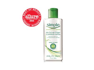 Simple Kind to Skin Micellar Cleansing Water, 13.5 fl oz