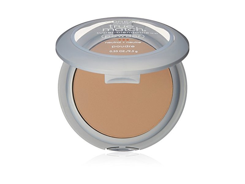 L'Oréal Paris True Match Super-Blendable Powder, Natural Buff, 0.33 oz.
