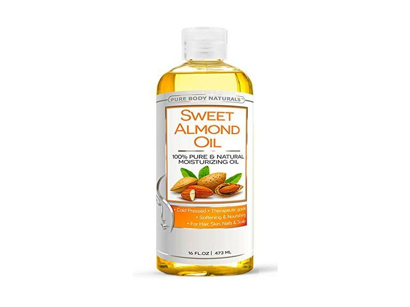 Pure Body Naturals Sweet Almond Oil