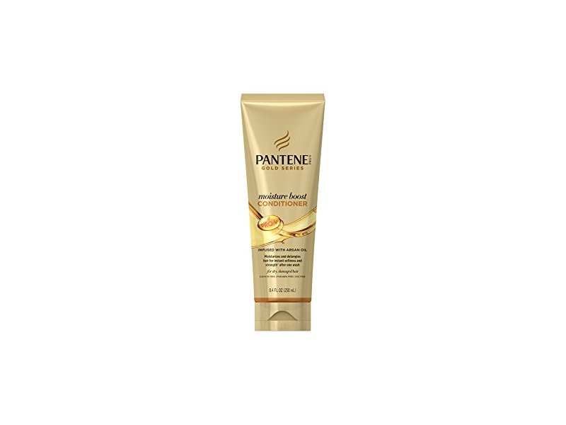 Pantene Gold Series Argan Oil Moisture Boost Conditioner, 8.4 fl oz