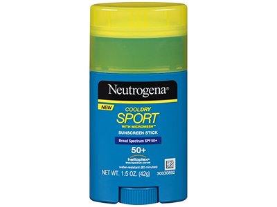 Neutrogena SPF 50 Plus Cool Dry Sport Stick, 1.5 Ounce