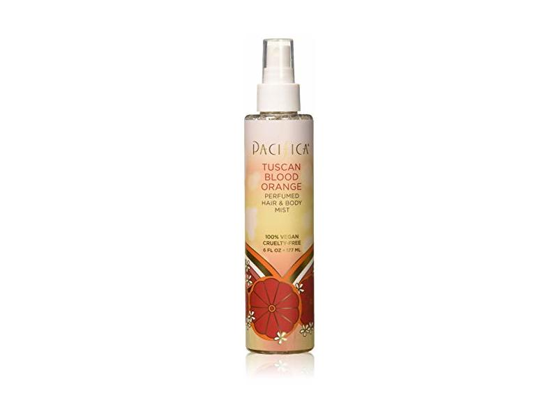 Pacifica Beauty Perfumed Hair & Body Mist, Tuscan Blood Orange, 6 Fl Oz
