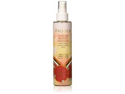 Pacifica Beauty Perfumed Hair & Body Mist, Tuscan Blood Orange, 6 Fl Oz