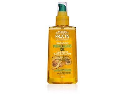 Garnier Fructis Triple Nutrition Miraculous Oil, Hair Elixir, 5.0 fl oz