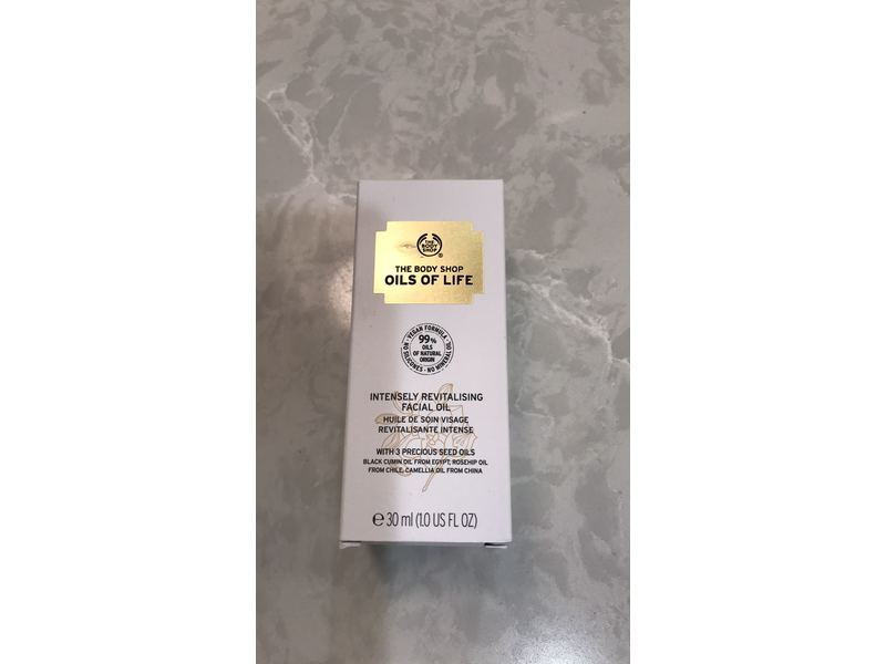 The Body Shop Oils Of Life Intensely Revitalizing Facial Oil, 1 Fl Oz
