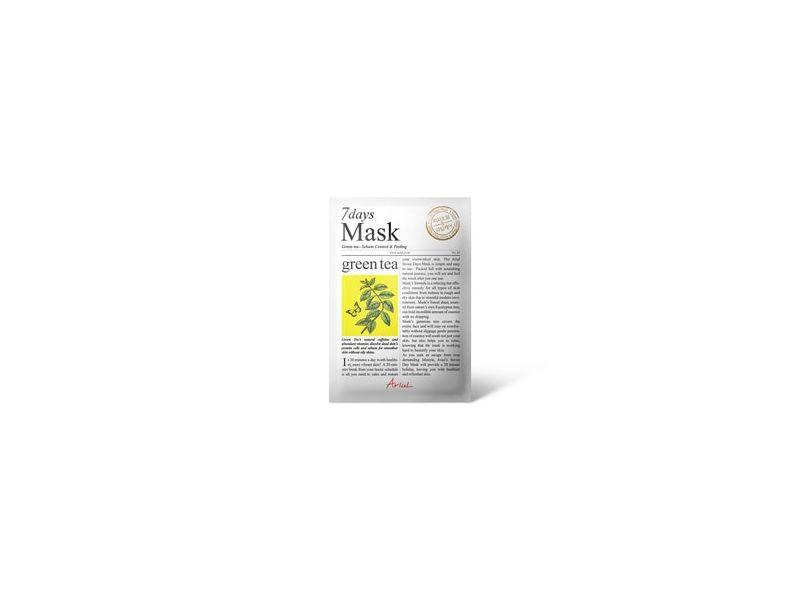 Ariul 7Days Mask, Green Tea