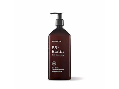 AROMATICA B5+Biotin Fortifying Shampoo, 13.53oz