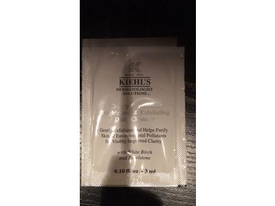Kiehl's Clearly Corrective Brightening & Exfoliating Daily Cleanser, 0.10 fl oz