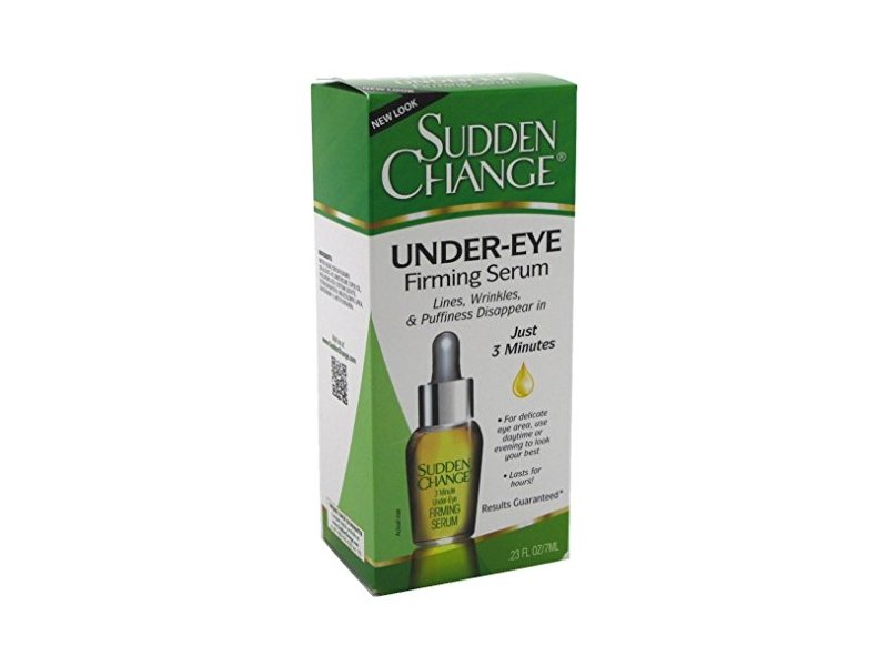Sudden Change Sudden Change Under-Eye Firming Serum, 0.23 oz (Pack of 3)