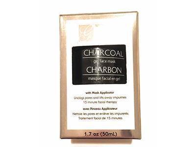 Global Beauty Care Charcoal Gel Face Mask, 1.7 Oz