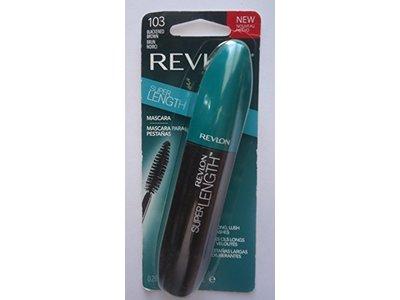 Revlon Super Length Mascara, #103 Blackened Brown, .28 oz