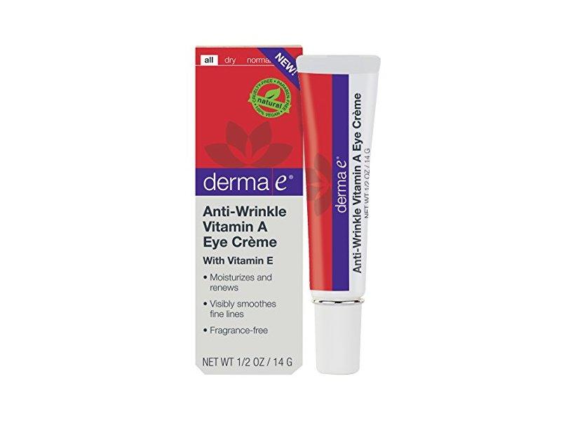 Derma E Anti-Wrinkle Vitamin A Eye Creme, 0.5 Ounce