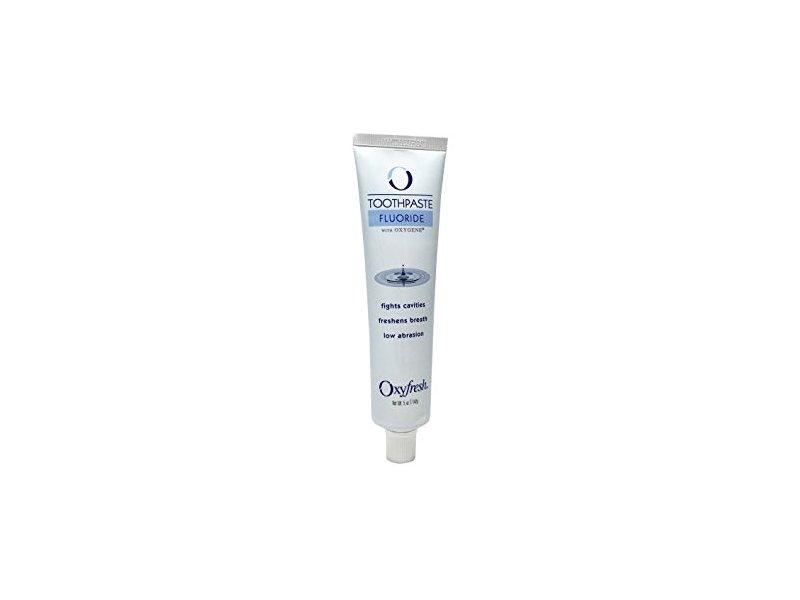 Oxyfresh Fluoride Mint Toothpaste, 5 oz