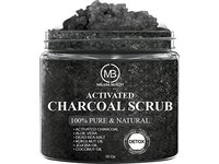 Milana Beauty Activated Charcoal Scrub, 10 oz - Image 3