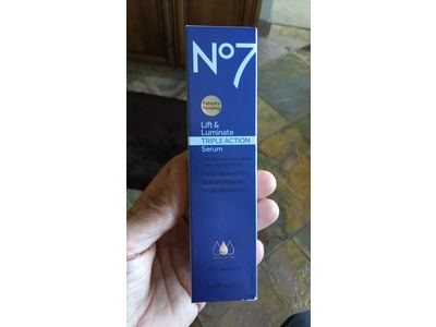 Boots No7 Lift & Luminate TRIPLE ACTION Serum, 1 69 oz Ingredients