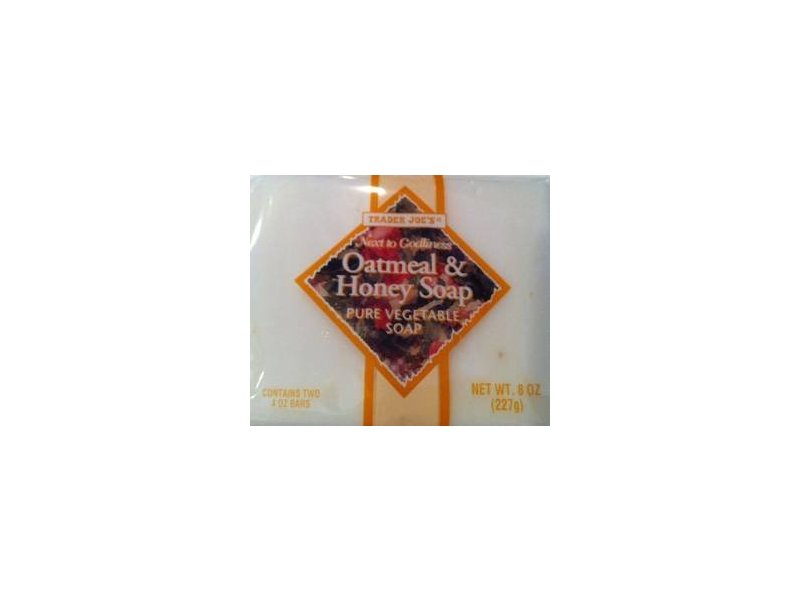 Trader Joe's Oatmeal & Honey Soap Pure Vegetable Soap