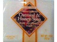 Trader Joe's Oatmeal & Honey Soap Pure Vegetable Soap - Image 2