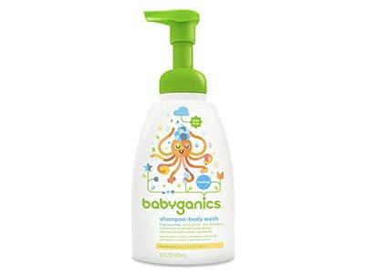 Babyganics Baby Shampoo + Body Wash, Fragrance Free, 16 oz