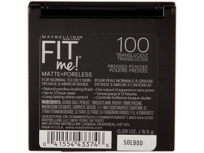 Maybelline New York Fit Me Matte+Poreless Powder, Translucent, 0.29 Ounce - Image 4