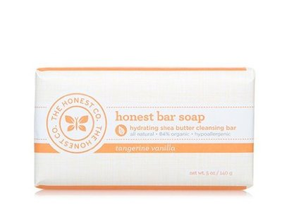 The Honest Co Honest Bar Soap, Tangerine Vanilla - Image 3