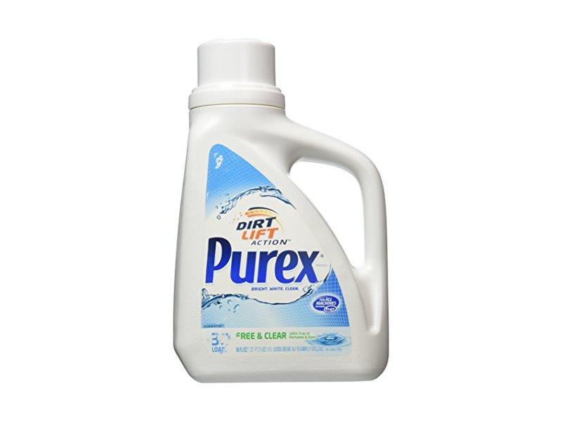 Purex Free Amp Clear Laundry Detergent 50 Fl Oz Ingredients