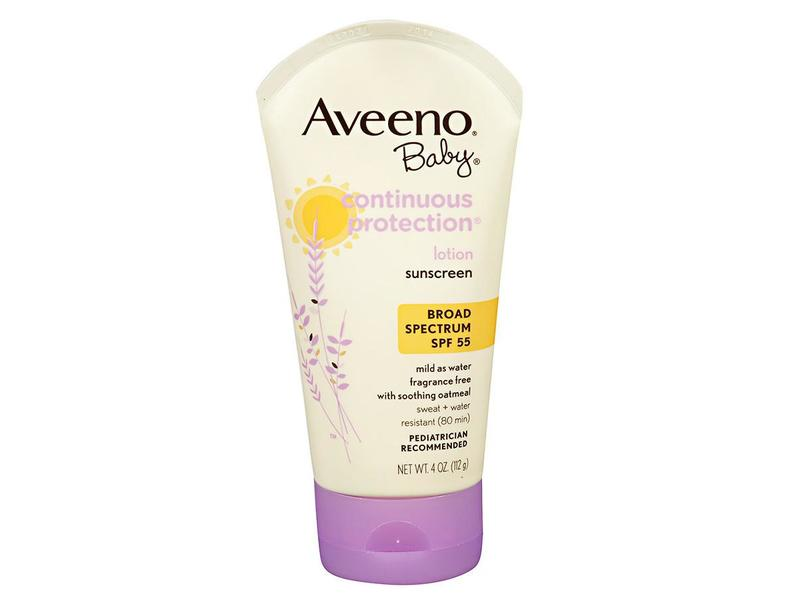 Aveeno Baby Continuous Protection Lotion Sunscreen Spf 55