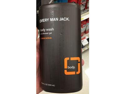Every Man Jack Bodywash and Shower Gel, Citrus Scrub, 16.9 oz. - Image 3
