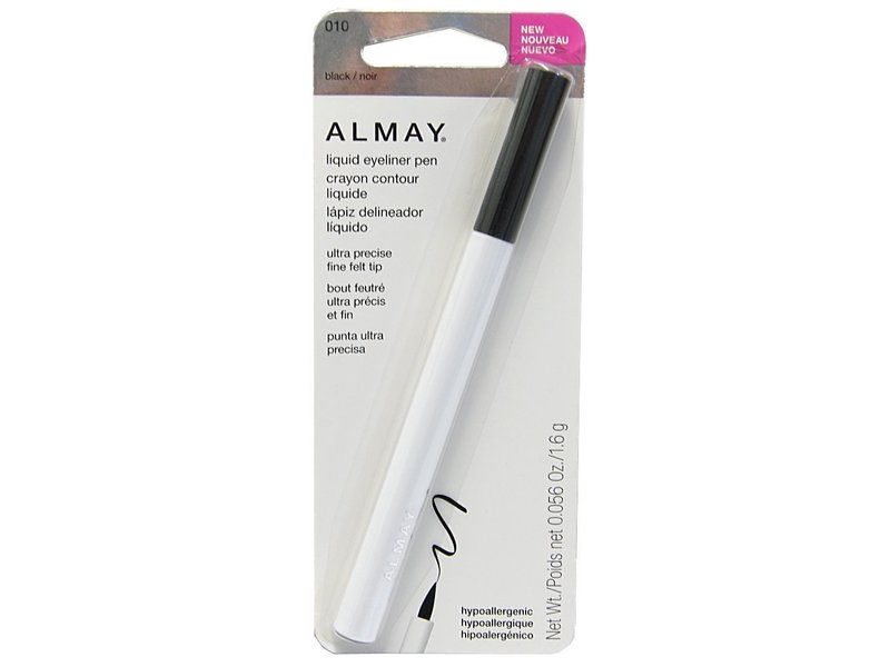 Almay Liquid Eyeliner Pen, Black, 0.056 Ounce