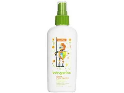 Babyganics Natural Insect Repellent, 6 oz - Image 1