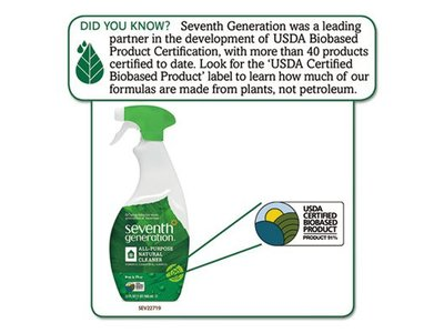 Seventh Generation All Purpose Natural Cleaner, Free & Clear, 32 fl oz - Image 3