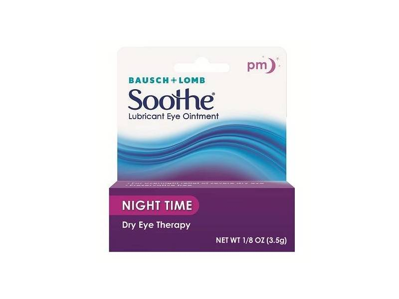 Bausch & Lomb Soothe Might Time Lubricant Eye Ointment
