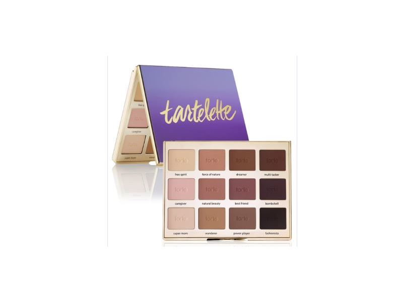 Tarte Tartelette Amazonian Clay Matte Eyeshadow Palette, 0.053 oz x 12 shadows
