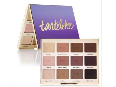 Tarte Tartelette Amazonian Clay Matte Eyeshadow Palette, 0.053 oz x 12 shadows - Image 1