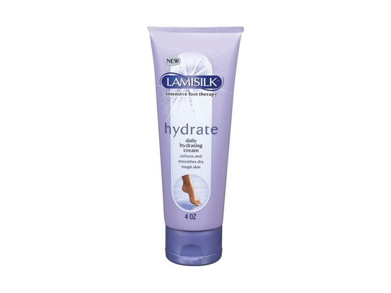 Lamisilk Intensive Foot Therapy ~ Hydrate ~ Daily Hydrating Cream, 4oz