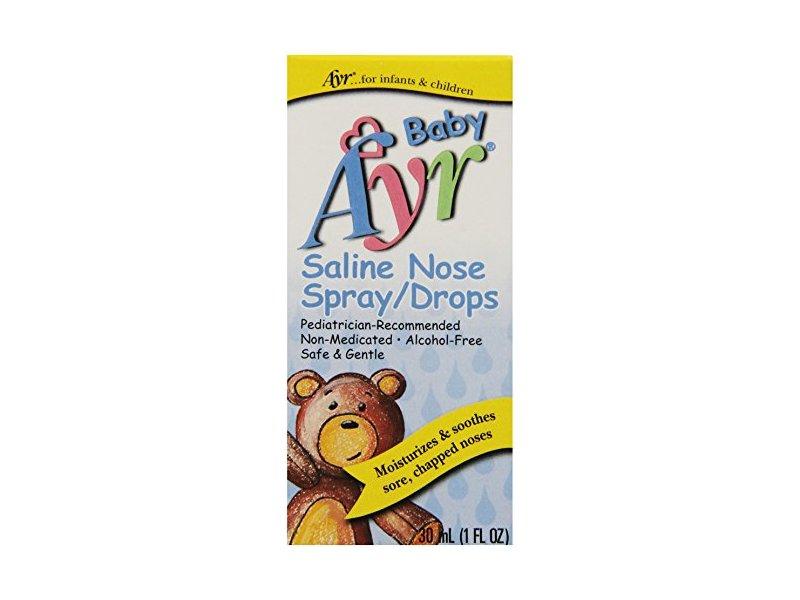 Baby Ayr Saline Nose Spray/Drops