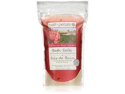 Bath Petals Bath Salt, California Rose Garden, 11 Ounce