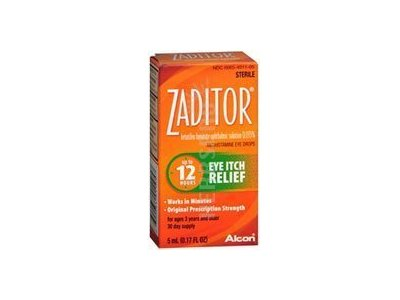 Zaditor Zaditor Eye Itch Relief Drops, 5 ml