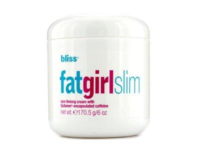BLISS Fatgirls SlIM Anti Cellulite Cream 6.0 OZ BLISS/FatgirlsSlim Skin Firming Cream 6.0 OZ Reduces Cellulite