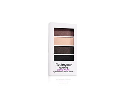 Neutrogena Nourishing Long Wear Eye Shadow + Built-in Primer, Soft Taupe, 0.24 Ounce