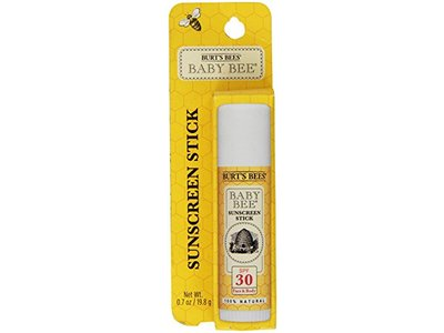 Burt's Bees Baby Bee SPF 30 100% Natural Sunscreen Stick, 0.7 ounces