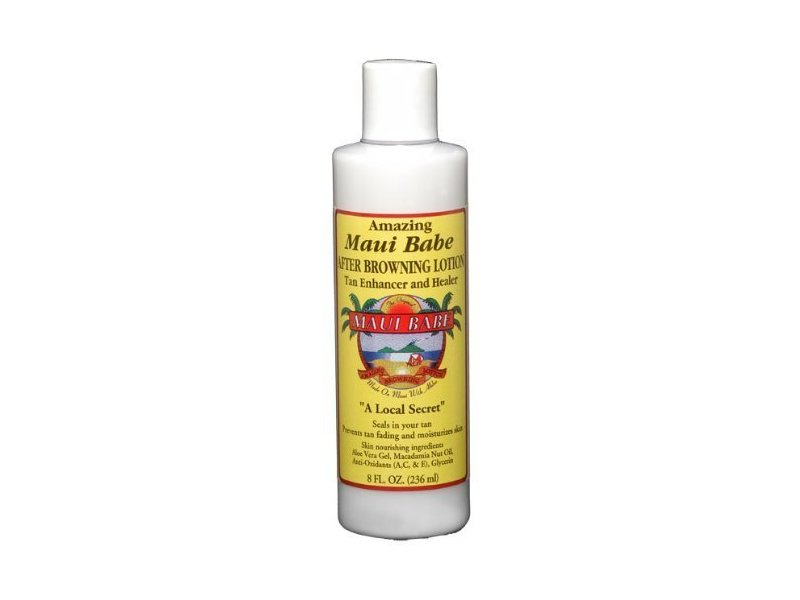 Maui Babe After Tanning Browning Lotion, 8 fl oz
